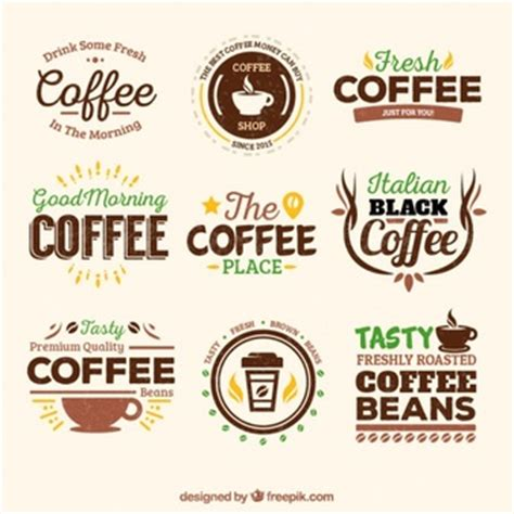 Vintage Kitchen Canister Set vintage coffee house badges vector free download