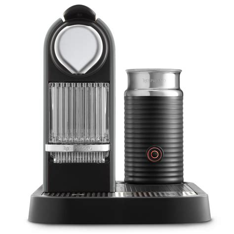 nespresso milk modern espresso machine with milk frother homesfeed