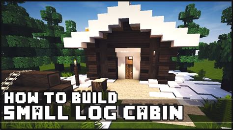 How To Build A Log Cabin Minecraft by Minecraft How To Build Simple Small Log Cabin