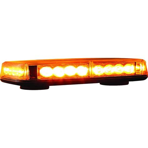 Mini Led Light Bars Buyers Products Company 24 Led Mini Light Bar 8891040 The Home Depot