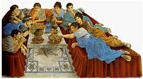 banchetti romani triclinium cibo e convivialit 224 nell antica roma cucine d