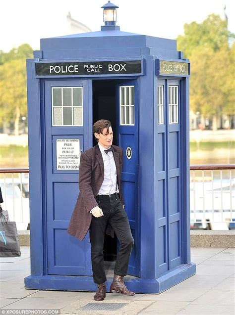 Build A Virtual House Online matt smith shatters tardis illusion as he rides though the
