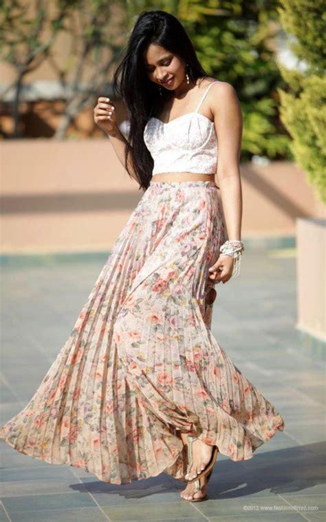 trendy long skirt