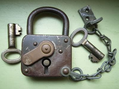 abus vorhängeschloss antiques collectibles antique padlocks