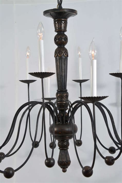 Candle Light Fixture Italian 16 Light Candle Fixture Electrified At 1stdibs