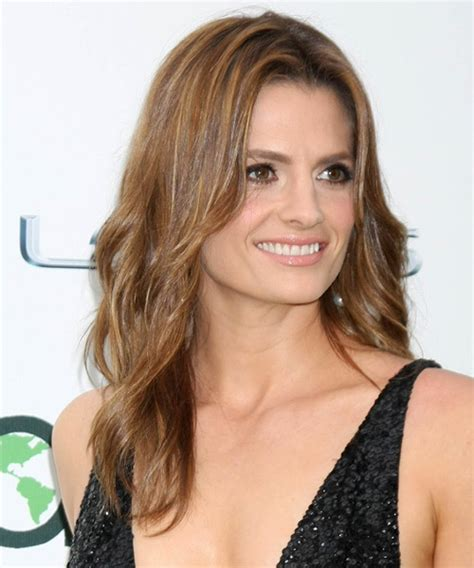Stana Katic Hairstyles by Stana Katic Casual Hairstyle Light