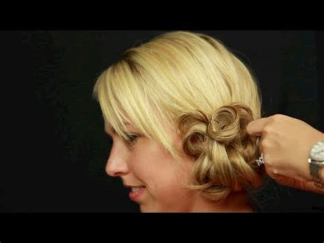 Wedding Hair Side Bun Tutorial by Wedding Hairstyle Tutorial Side Bun