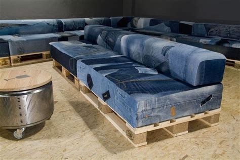 old sofa recycle recycled denim jeans sofa covers recycled things
