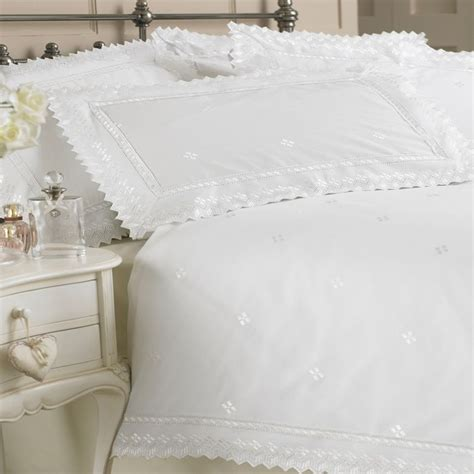 broderie anglaise bed linen something pretty and delicate megan self coloured