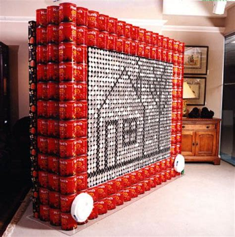 simple canstruction ideas 21 best food can sculptures images on pinterest food