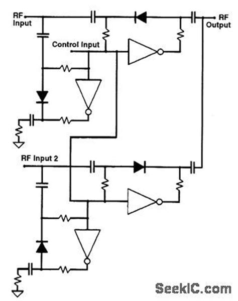 pin diode switch circuit index 99 circuit circuit diagram seekic