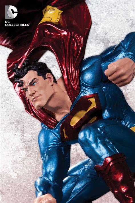 Superman Bermejo Dc Comics Figure dc collectibles superman of steel 0004