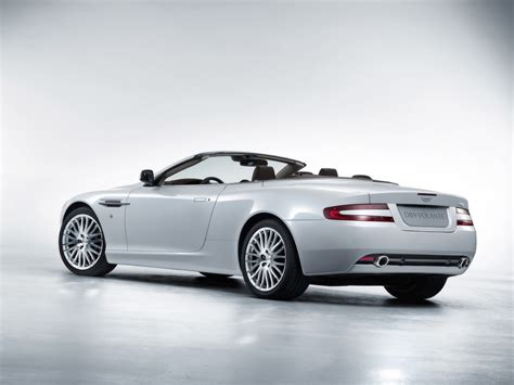White Aston Martin Db9 by 2008 Aston Martin Db9 Rear And Side White 1280x960