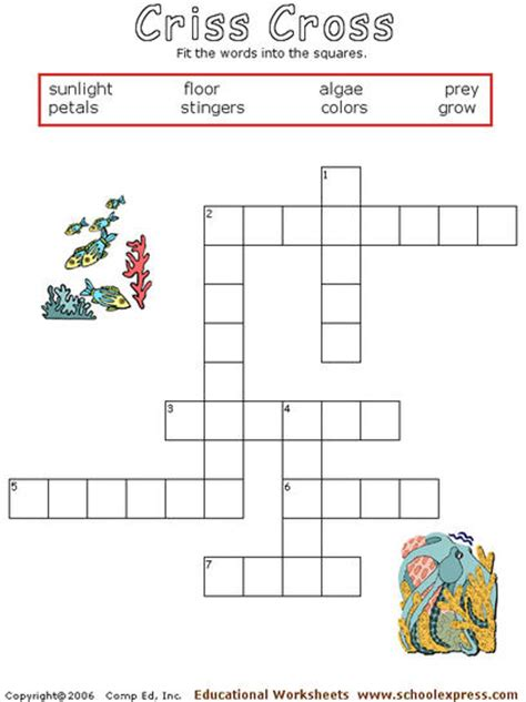 Coral Reef Worksheets For by Schoolexpress 19000 Free Worksheets Create Your
