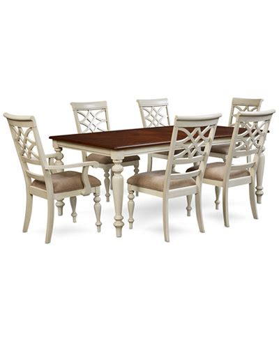 windward 7 pc dining set dining table 4 side chairs 2