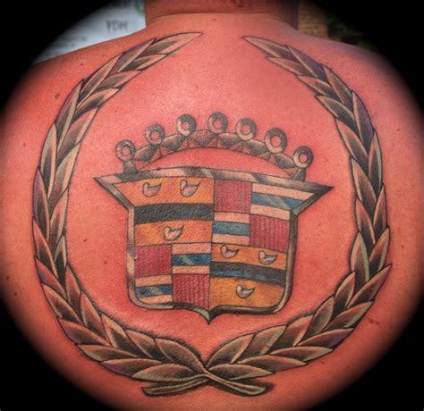 cadillac tattoo cadillac symbol