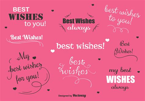 wishes vector labels   vector art stock graphics images
