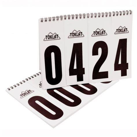 Kostenlose Vorlage Für öffnungszeiten Startnummern Set F 195 188 R Pads Westerndreams