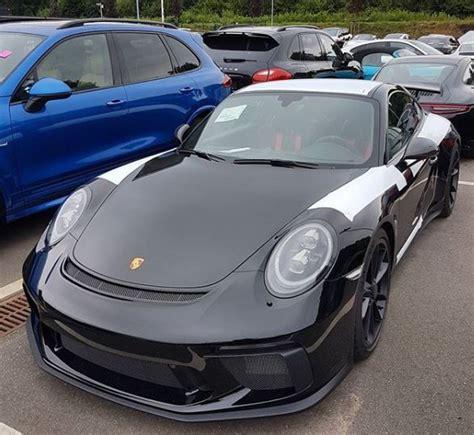 black porsche 911 gt3 all black 2018 porsche 911 gt3 awaiting delivery in