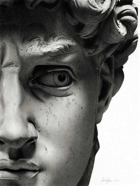 michelangelo david sculpture art sci the best photorealistic drawings