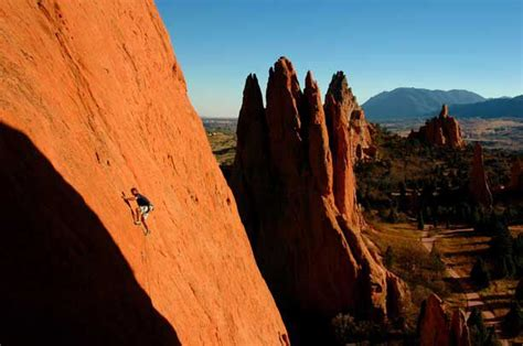 garden of the gods colorado s best climbing destination