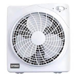box fans at home depot optimus 10 in box fan f1022 the home depot