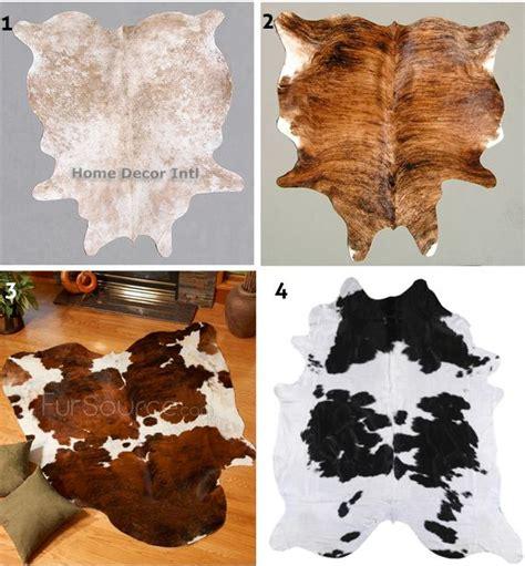 cowhide rugs on cowhide decor cowhide - Cheap Cowhide Rug