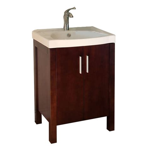 Vanity With Top by Bellaterra Home Haywood 24 In Single Vanity In