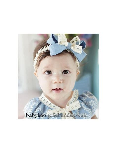baby headbands baby headband uk blue bow baby headband