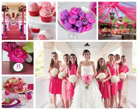 hot wedding themes the best color themes for spring and summer weddingsbeau