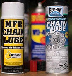 Motorcycle Chain Lube and the Grunge Brush   webBikeWorld