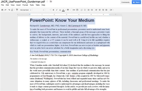 convert pdf to word with google docs ppt bird i saw i learned i share use google docs