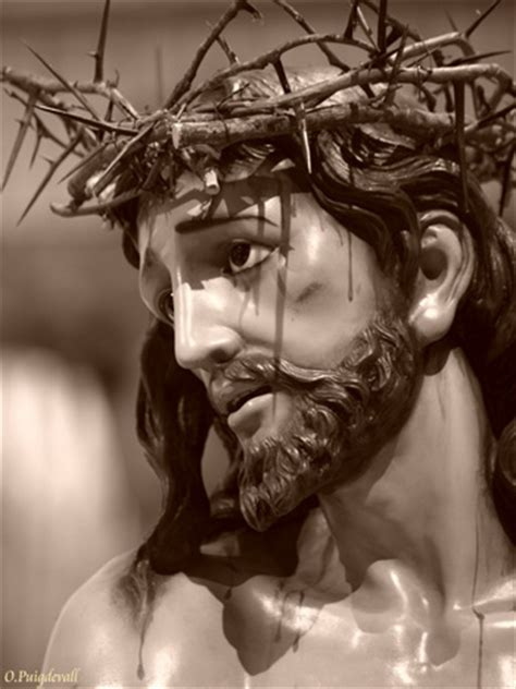 imagenes de jesucristo agonizante rostro de jesus despojado zaragoza detalle del rostro