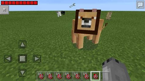 big cats mod для pocket edition 0 11 1 0 11 0 и 0 10 5