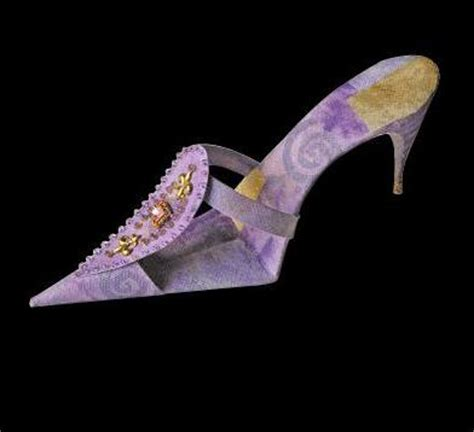 How To Make Shoes Out Of Paper - the place of fashion