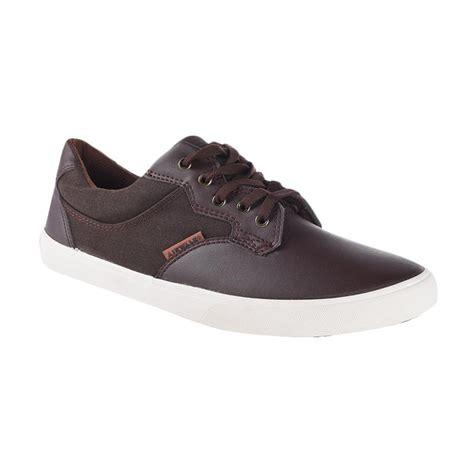 Sepatu Airwalk Dk Brown jual airwalk hokie sneaker shoes dk brown aiw16cv0773s