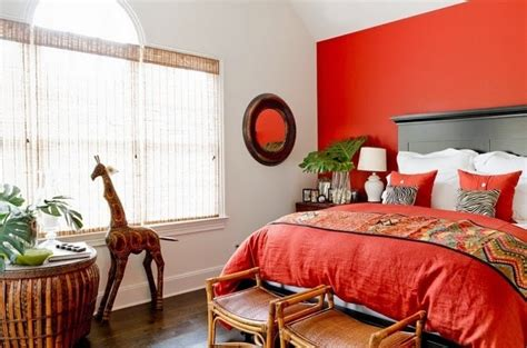 cuarto gris con rojo habitaciones en rojo y gris dormitorios colores y estilos