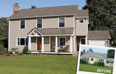 before and after cape cod this house