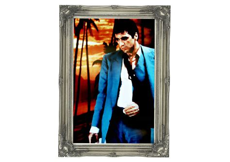 scarface wall mural al pacino scarface 03 mural printed wall mural