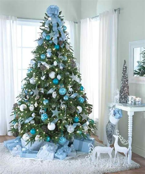 blue and silver tree ideas 37 inspiring tree decorating ideas decoholic