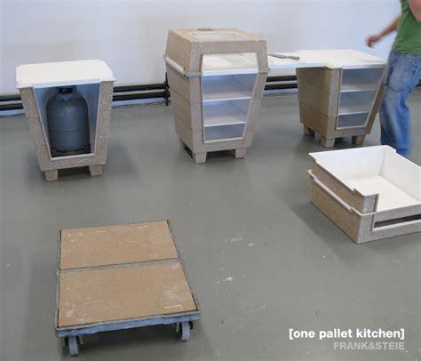 designboom kitchen one pallet kitchen designboom com