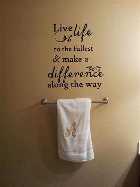 quotes for bathroom quote on my bathroom wall meaningful quotes pinterest