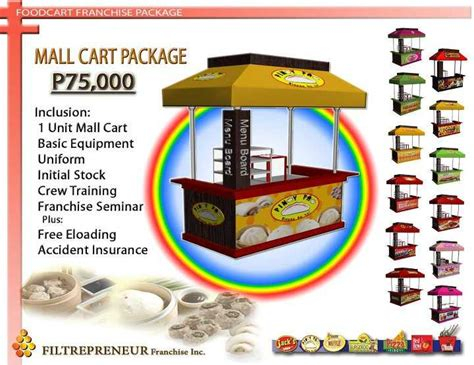 food cart franchise below 50k food kiosk franchise philippines food