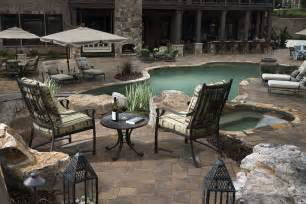 Backyard Pavers Cost How To Landscape Around An Inground Pool Install It Direct