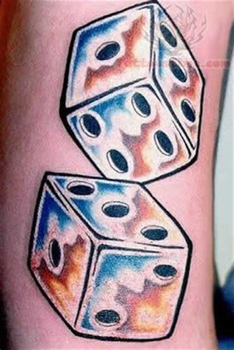 pair of dice tattoo best dice