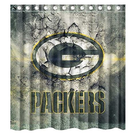 green bay packers shower curtain all nfl shower curtains price compare