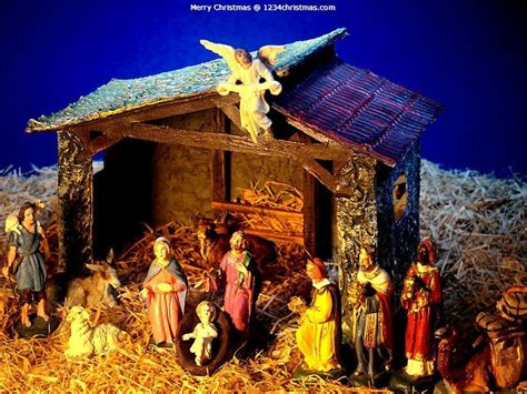 free christmas nativity wallpapers wallpaper cave