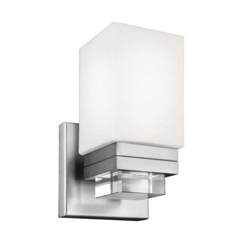 design house marlowe 1 light satin nickel tulip shape