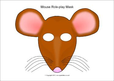 printable rat mask rat clipart mask pencil and in color rat clipart mask