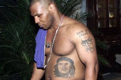 mike tyson tattoo meaning mike tyson s 5 tattoos their meanings guru